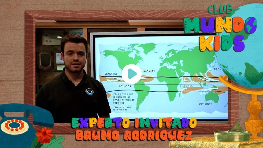 Bruno Rodríguez nuestro experto invitado para hablar del clima | Club Mundo Kids