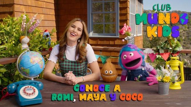 Romi, Maya y Coco te cuentan sobre Club Mundo Kids